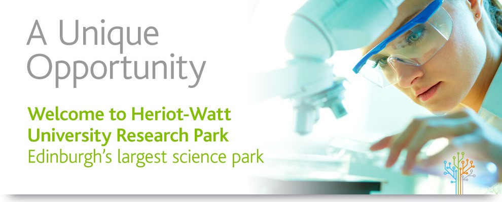 Welcome to Heriot-Watt University Research Park – Edinburgh